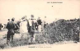 63 . N° 48173 . Wagner Sur Le Pont Du Cratere. Les Eliminatoires.course De Voitures.rallye.pilote.coupe Gordon-bennett - France