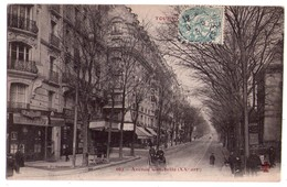 1863 - Paris ( 20e ) - Avenue Gambetta - F.Fleury éd. - N°662 - - Arrondissement: 20