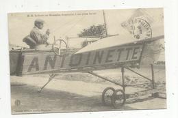 Reproduction De Cp, Ed. Edito , Aviation , Aviateur M.H. Lathan Sur Monoplan Antoinette, à Son Poste De Vol - Aviateurs