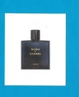 Cartes Parfumées Carte BLEU De CHANEL    De CHANEL - Cartes Parfumées