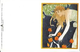 REPRODUCTION VOIR VERSO ADECA NEUDIN N°136 MOSER KOLOMAN PHILIPP ET KRAMER - Otros Ilustradores