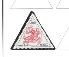 Monaco Postage 1980/83 Scott.J74 + See Scan On Scott.Page - Postage Due