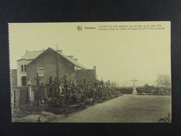 Tamines Cimetière Où Sont Déposées Les Victimes Du 22 Août 1914 - Sambreville