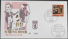 BERLIN 1989 Mi-Nr. 857 FDC - FDC: Buste