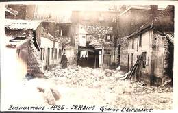 Seraing - Inondations 1926 - Quai De L'Espérance (animée, Carte-photo) - Seraing