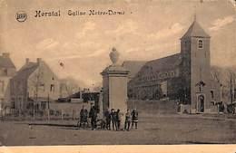 Herstal - Eglise Notre-Dame (animée, Legia) - Herstal