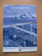 BADMINTON.Ferintage In NORDLAND(Spitzbergen,Lofoten,....)HAMBURG-AMERIKA LINIE - Europa