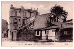 1866 - Paris ( 20e ) - Rue De La Cour Des Noues ( Vieux Paris ) - F.F. - N°20.4 - - Arrondissement: 20