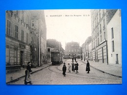 CPA   BAGNOLET-RUE DU PROGRES-ANIMEE - Bagnolet