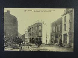 Tamines Rue De La Station Ruines Et Reconstructions - Sambreville