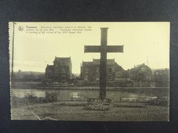 Tamines Monument Provisoire élevé à La Mémoire Des Victimes... - Sambreville
