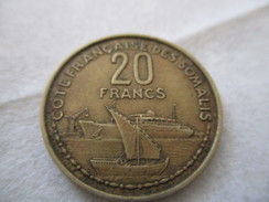 Côte Française Des Somalis 20 Francs 1965 - Djibouti