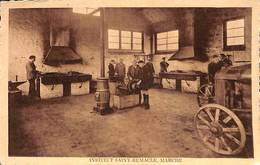 Marche - Institut Saint-Remacle (Forges Et Atelier Réparation Machines Agricoles, Animée) - Marche-en-Famenne