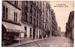 1868 - Paris ( 20e ) - Rue Compans - E.M. - N°1 - - Arrondissement: 20