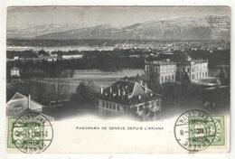 Panorama De GENEVE Depuis L'Ariana - 1904 - GE Genève