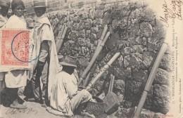 CPA - Tananarive - Marchands De Valiha - Instruments De Musique Malgache - Madagascar