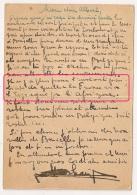 """TEXTE """"Quitter La France Via L'Espagne Par L'Afrique"""" Pour Rentrer En Belgique. ENTIER Toulouse Pour ANIANE. - Oorlog 1939-45"""
