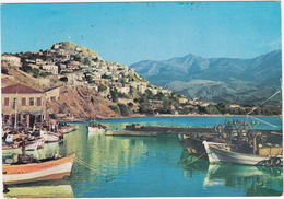 Lesbos - Molyvos: View From The Harbour / Vue Par Le Port  - (Greece) - Griekenland