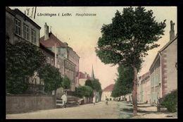 LORQUIN  - LÖRCHINGEN - Hauptstrasse - Route Principale - Lorquin