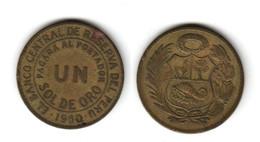 Pérou Un Sol 1960  Peru - Pérou