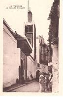 POSTAL   TANGER  -MARRUECOS   -LA GRANDE MOSQUÉE  (LA GRAN MEZQUITA) - Tanger