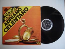 LP - ADRIANO CELENTANO  - 12 SUPER  SUCCESSI - JOKER REC - Vinyl Records