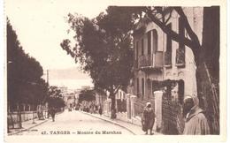 POSTAL   TANGER  -MARRUECOS  - MONTÉE DU MARSHAN  (SUBIDA DEL MARSHAN) - Tanger