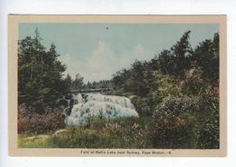 CPA Peco Ottawa Falls At Gellis Near Sydney Cape Breton Nova Scotia - Cape Breton