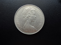ROYAUME UNI : 10 NEW PENCE   1969   KM 912    SUP - 1971-… : Monnaies Décimales
