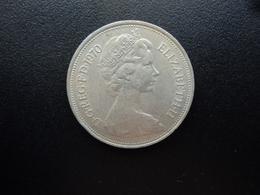 ROYAUME UNI : 10 NEW PENCE   1970   KM 912    SUP - 1971-… : Monnaies Décimales