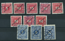 Österreich Porto 64/74 Gest. - 1850-1918 Empire