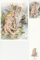 CHERET Duo (carte + Marque Page) Salon MONTREUIL 2011 - Marque-pages