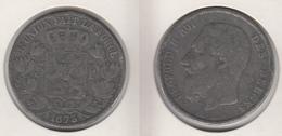 Belgique 5 Francs 1873  5F  Léopold II  Fausse - 1865-1909: Leopold II