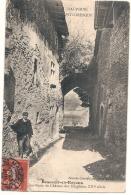 ***  38  ***  BEAUVOIR EN ROYANS  Une Porte Du Château - TTB - France