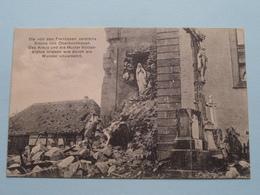 Die Von De Franzosen Zerstörte Kirche Von OBERBURNHAUPT ( Willy Koehler N° 53 ) Anno 1915 ( Voir Photo ) Wunder ! - Guerre 1914-18