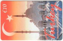 AUSTRIA F-048 Prepaid  - Landmark, Blue Mosque, Istanbul - MINT - Oesterreich