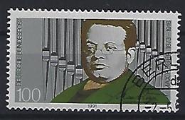 Germany 1991  Max Reger (o) Mi.1529 - Usados