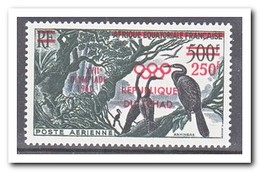 Tsjaad 1960, Postfris MNH, Birds, Overprint - Tsjaad (1960-...)