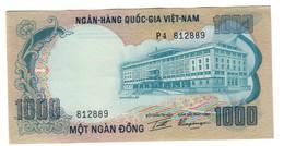 Vietnam South 1000 Dong 1972 UNC/AUNC .C2. - Vietnam