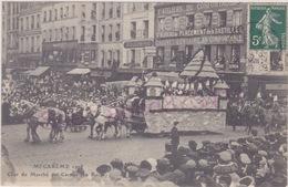 Mi Carème 1908 Char Du Marché Des Carmes (la Ruche) - France