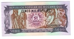 Mozambique 5000 Meticais 03/02/1989 UNC .C2. - Mozambique
