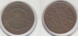 Sardaigne 5 Centisimi 1826  Tête D' Aigle  Charles Felix - Piemonte-Sardegna, Savoia Italiana