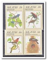 Maleisië 1988, Postfris MNH, Birds - Maleisië (1964-...)