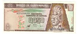 Guatemala 1/2 Quetzal 02/01/1998 UNC .C2. - Guatemala