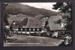CPSM ALLEMAGNE - BODENMAIS - Luftkurort Bodenmais Im Bayer. Wald - Verkehrsamt Und Rathaus - TB PLAN CENTRE VILLAGE - Bodenmais