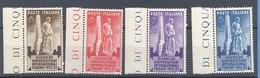 Regno 1933 Giochi Universitari  La Serie Cpl.4 Valori Nuovi** - 1900-44 Vittorio Emanuele III