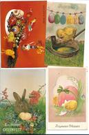Lot De 15 Cp  Avec Des Poussins Et Des Oeufs  Joyeuses Paques  Voir Scan - Cartes Postales