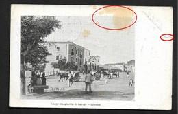 Iglesias Largo Margherita Di Savoja  - Cachet Cagliari CPA 1903 Italie Sardegna Italia - Cagliari