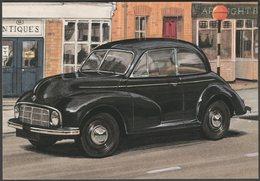 Morris Minor Series MM - Golden Era Postcard - Passenger Cars