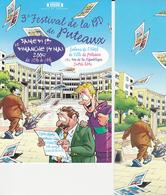 PICA Duo (carte + Marque Page) Salon PUTEAUX 2006 - Marque-pages